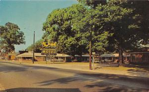 Town House Motel Glennville Georgia postcard