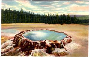ROBBINS 1244 Punch Bowl Spring, Yellowstone National Park