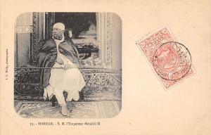 Ethiopia Harrar, S.M. l'Empereur Manelik II Menelik II