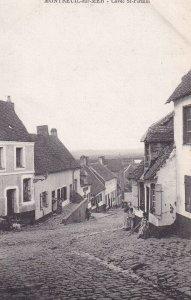 MONTREUIL SUR MER, Pas De Calais, France, 1900-1910s; Cavee St. Firmin