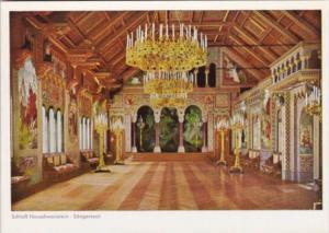 Castles Schloss Neuschwanstein Saengersaal Singing Hall
