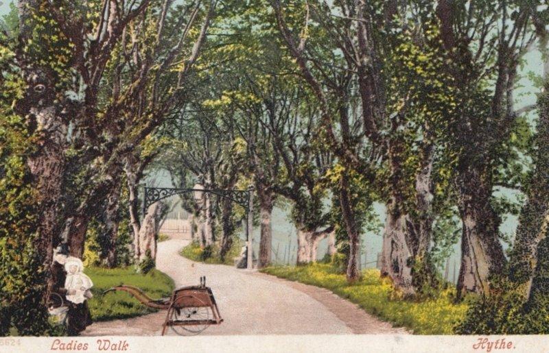 HYTHE , Kent , England , 1910 ; Ladies Walk