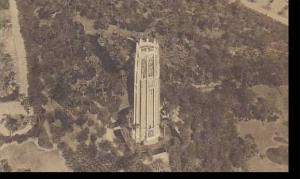Florida Lake Wales Mountain Lake Singing Tower & Sanctuary Albertype
