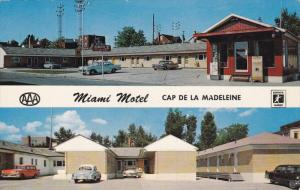 Miami Motel, Classic Cars, CAP DE LA MADELEINE, Quebec, Canada, 40-60's