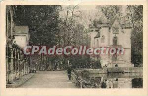 Postcard Old Forest of Chantilly (Oise) Chateau de la Reine Blanche