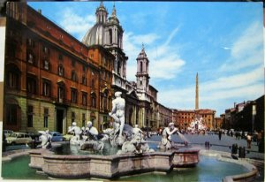 Italy Roma Piazza Navona - unposted