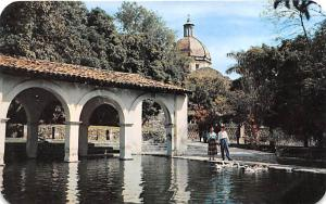 Mexico Old Vintage Antique Post Card Borda Gardens Cuernavaca Unused