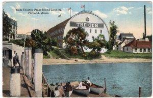 Portland, Maine, Gem Theatre, Peaks Island Landing
