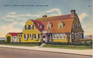 Massachusetts Cape Cod Joseph C Lincoln's Home At Chatham