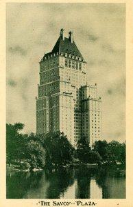 NY - New York City. The Savoy Plaza