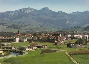 Switzerland, Suisse, APPENZELL, Kamor and Hoher Kasten, used Postcard