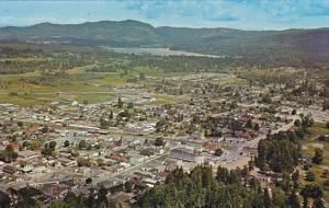 Canada Aerial View Of Duncan British Columbia
