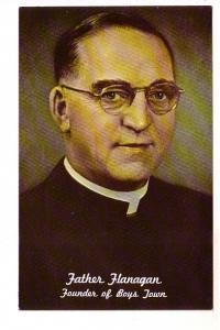 Portrait of Father Flanagan, Founder of Boys Town, Nebraska, Photo Samuels Ar...