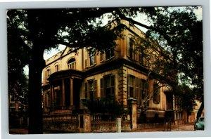 Savannah GA- Georgia, Owen-Thomas House, Old Fashion, Chrome Postcard