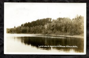 dc918 - HILLMAN Mich 1938 Real Photo Postcard