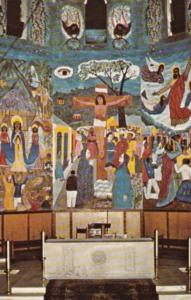 Haiti Port-au-Prince Nativity Mural Holy Trinity Cathedral Episcopal