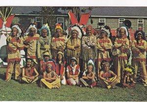 PETERBOROUGH, Ontario, Canada, 1940-1960s; Ojibway Indians, Curve Lake Indian...
