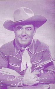 Cowboy Arcade Card Johnny Mack Brown