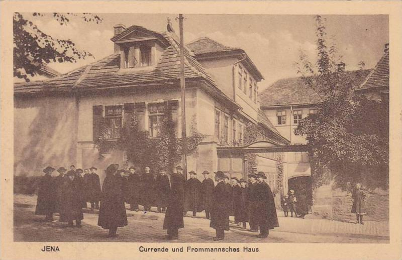 Currende Und Frommannsches Haus Jena Thuringia Germany 1910