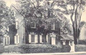 Delaware Newcastle Kensey Johns House Built 1789 Albertype