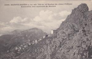 SAINTE-AGNES Et Rocher Du Vieux Chateau, Excursion Aux Environs De Menton, Al...