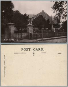 CAVAN IRELAND R.C. CHURCH ANTIQUE REAL PHOTO POSTCARD RPPC