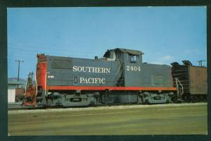 SWITCHER Espee System Southern Pacific ALCO Diesel Fruit Express Train Postcard