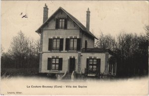 CPA LA COUTURE-BOUSSEY Villa des Sapins (1149543)
