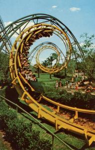 FL - Tampa. Busch Gardens, The Python Thrill Ride