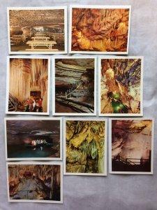 Set 8 Vtg Color Photo Souvenir Cards from Mammoth Cave, KY - Robert Scott Photos