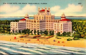 Florida Pass-A-Grille The Don Cesar Hotel and Beach
