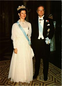 CPM King Carl XVI Gustaf and Queen Silvia SWEDISH ROYALTY (845084)