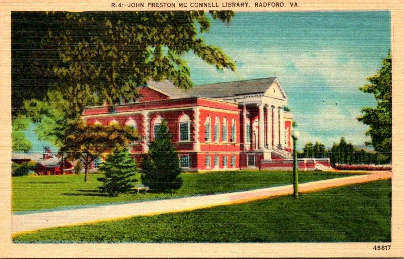 Virginia Radford John Preston McConnell Library