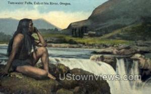 Tumwater Falls Columbia River OR Unused