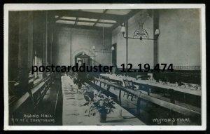 474 - ENGLAND Weston-Super-Mare 1911 Sanatorium Interior. Real Photo Postcard