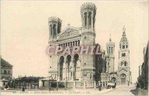 Old Postcard Lyon Notre Dame de Fourviere