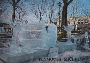 Michigan Plymouth Ice Sculpture Spectacular