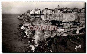 Old Postcard Corsica Corsica Bonifacio's cliff