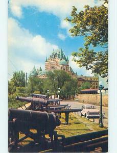 Unused Pre-1980 TOWN VIEW SCENE Quebec City QC p9024