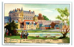 Amboise, Castles of the Loire, Liebig Belgian Trade Card *VT32E