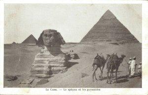 Egypt Le Caire Le sphinx et les pyramides 04.03