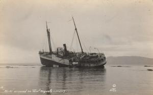 RP: POINT AUGUSTA , Alaska , 1917 ; Shipwreck of the AL-KI