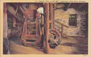 Interior View Of Old Mill Lakewood Little Rock Arkansas