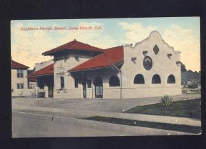LONG BEACH CALIFORNIA SOUTHERN PACIFIC RAILROAD DEPOT