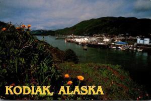 Alaska Kodiak Downtown View 1998