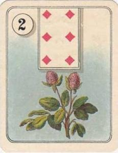 Carreras Vintage Cigarette Card Fortune Telling 1926 No 2