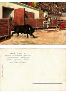 CPA Bullfighting - Salida de el Toro (776036)