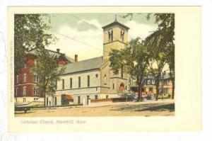 Unitarian Church, Haverhill, Massachusetts, 10-20s