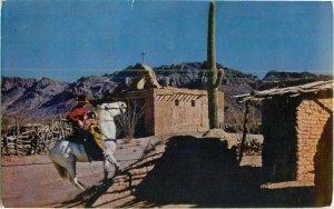 Postcard Old Tucson Arizona