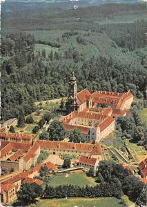 Zisterzienserstift Zwettl Niederoesterreich Kirche Church Aerial view